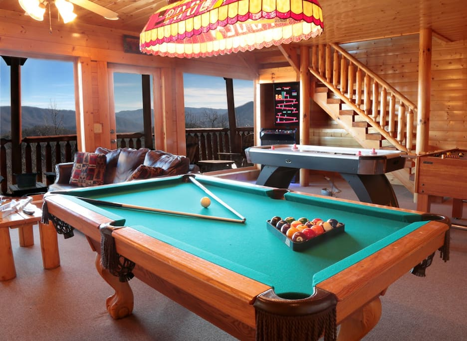 Pool Table, Foosball, Air Hockey, Multi-Game Arcade!