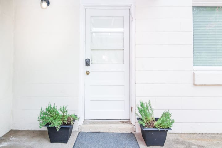 Your own private entrance!