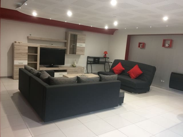 Bel appartement dans le vignoble - Bennwihr - Huis