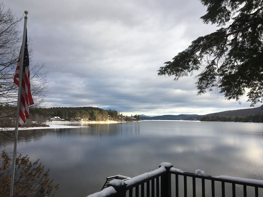 Winter view from main Deck