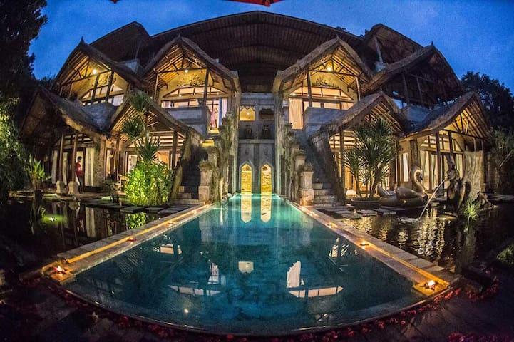 Arthur Carmazzi's Castle in Bali