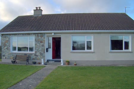 Family home in rural Mayo setting
