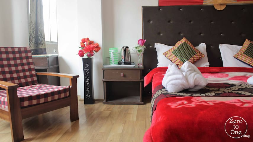 Cozy 2BDR dlx away from busy city - Gangtok - Apartamento