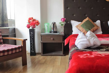 Cozy 2BDR dlx away from busy city - Gangtok - Appartement