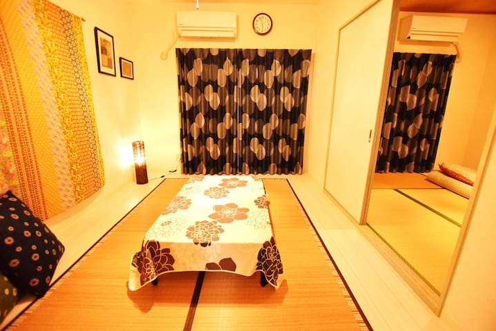 #43 Osaka/Nara★Max 10PPL★Wide room★ - Kashiwara-shi - Apartment