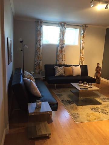 beau logement bien décoré et confortable - Lévis - Apartment