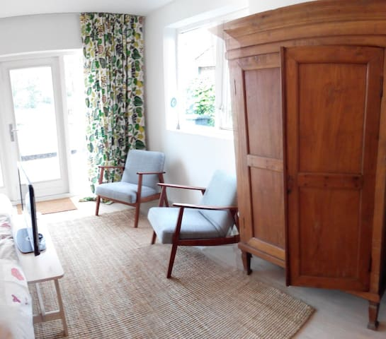 Studio aan zee met sauna en uitzicht - Scharendijke