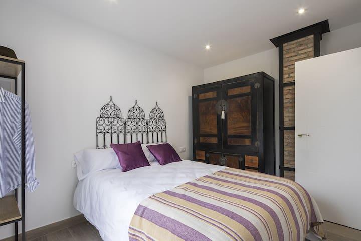 Dormitorio principal - Cama doble