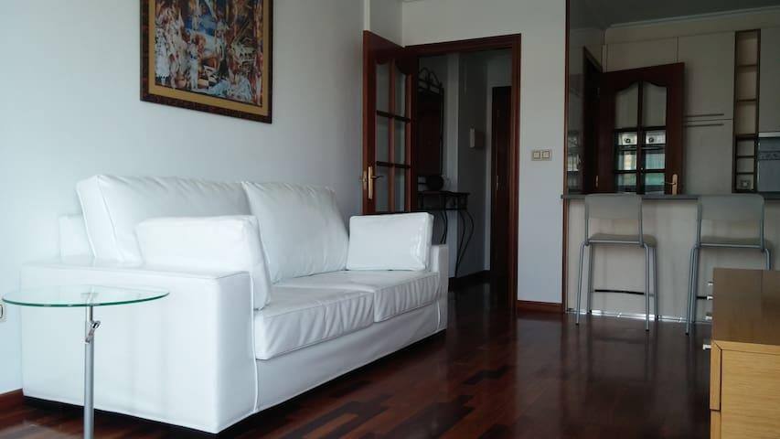 DESCANSO TERMAL. Centrico Apartamento con garaje - Ourense - Daire