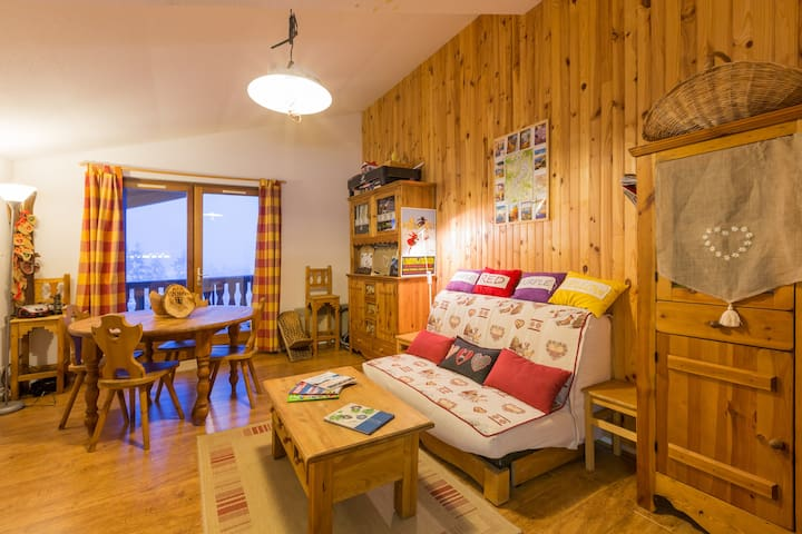Savoie, Station le REVARD, all the appart,4 people - Pugny-Chatenod - Wohnung