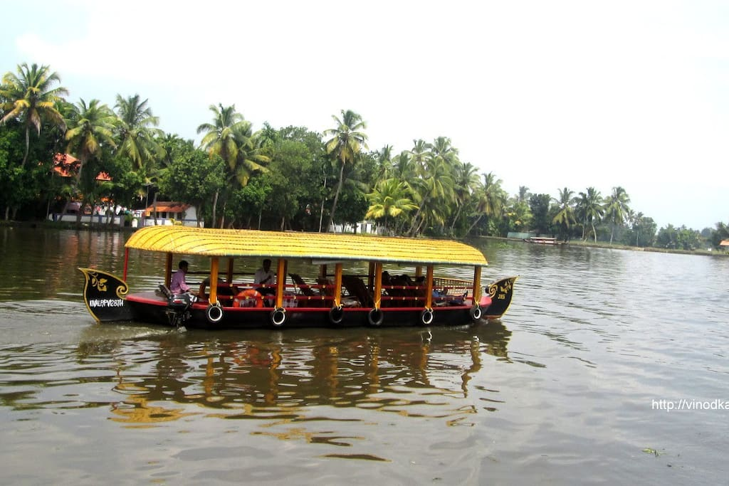 Kerala Back water,s village tour