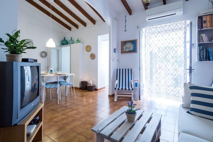 Typical Mallorcan house (recently rebuilt)ETV/9441