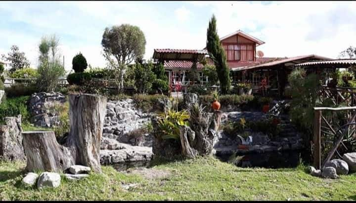 Cabañas Vip Familiar en Cotacachi ( Quiroga)