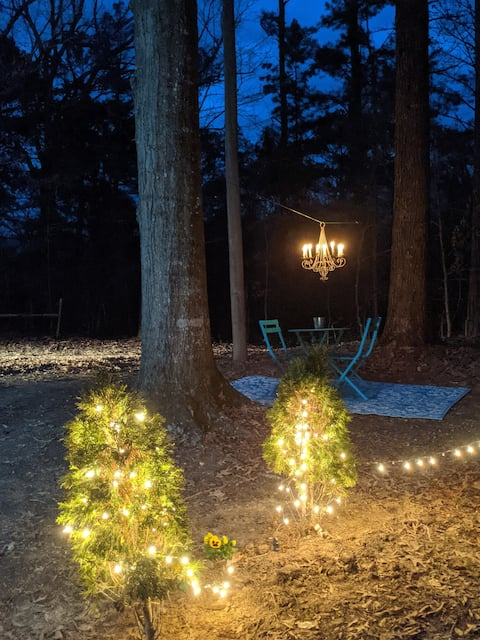 Woodland RV-secluded, relaxing get away.