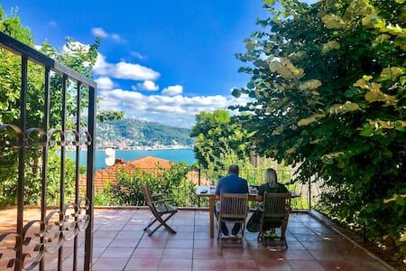 Villa w/ Terrace, Patio & sea view over Bosphorus