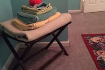 Additional linens; blankets as needed