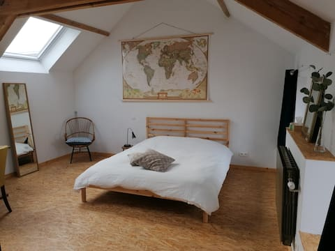 Cosy and quiet room in the middle of Belgium!