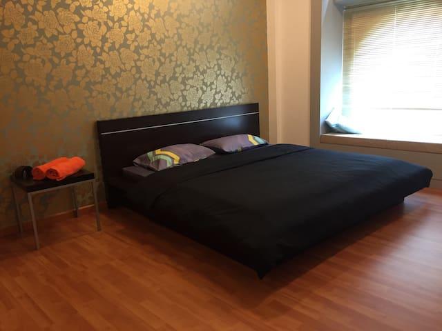 2BR 2Bath Spacious Modern Apartment 5mins to KLCC