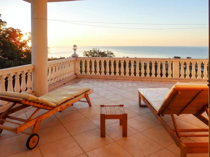 Apartment with 3 bedrooms in Santa Lucia di Moriani, with furnished garden and WiFi