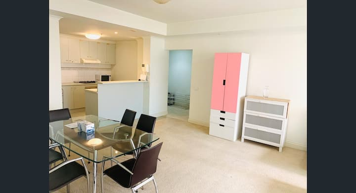 Simple one bed room furnished flat closer to city