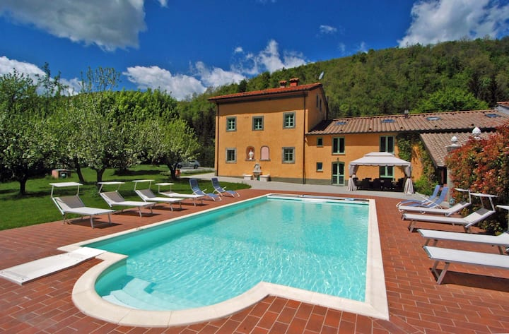 Villa Le Panche - Heated Pool, Spa