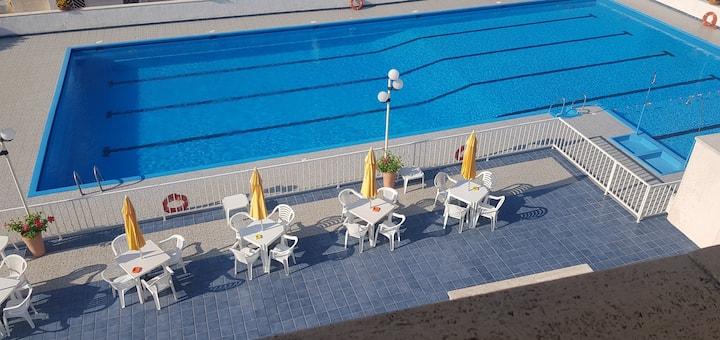 Appartamento in residence con piscina