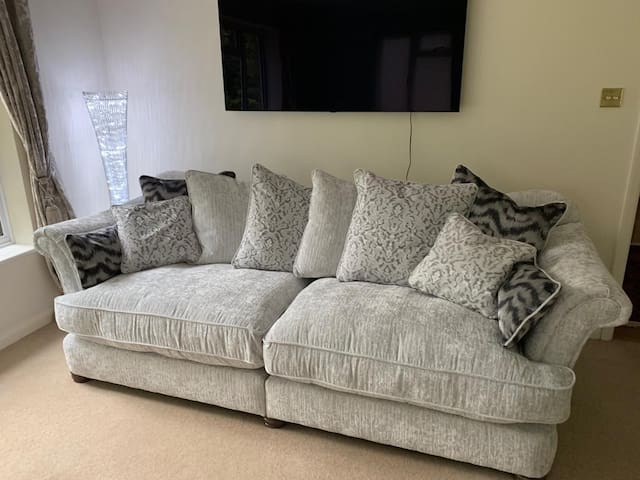 Large 3 seater custom made sofa