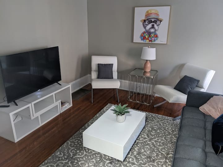 Dilworth condo with modern Southern Charm (apt 2)