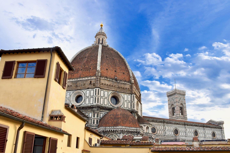 Magnifica Vista del Duomo di Firenze