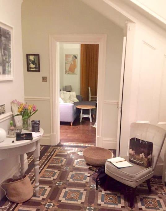Hallway through to lounge