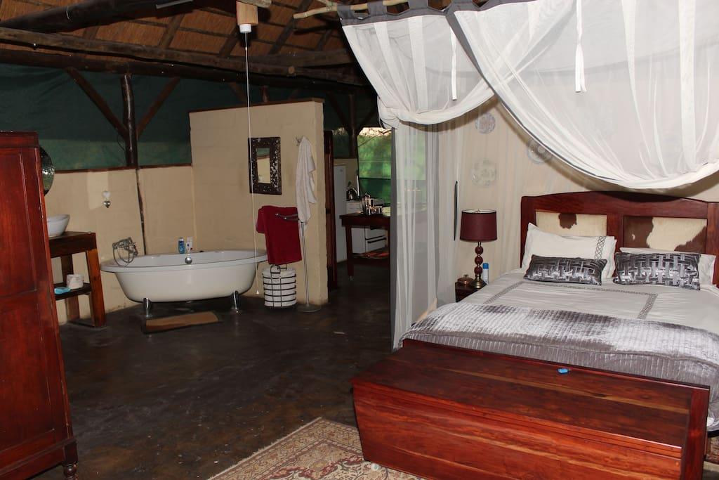 Main bedroom, with bathroom