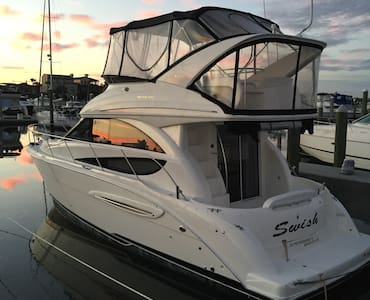 36' Luxury Motor Yacht near Fort Lauderdale beach! - Fort Lauderdale - Barco