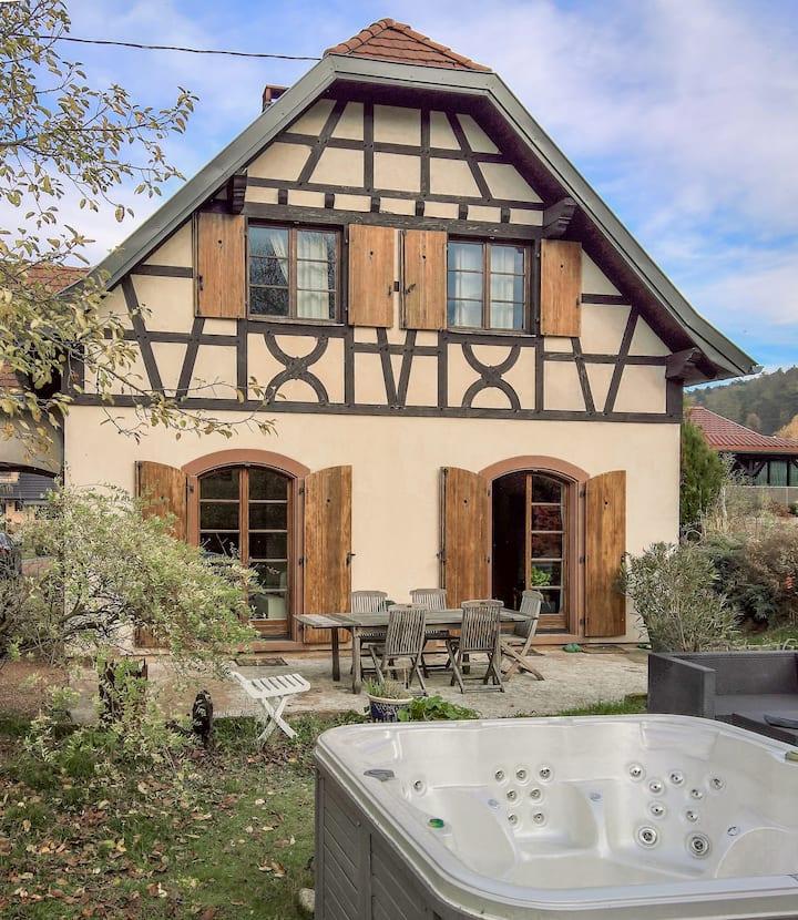 Ruhige Villa in Sparsbach, Region La Petite Pierre