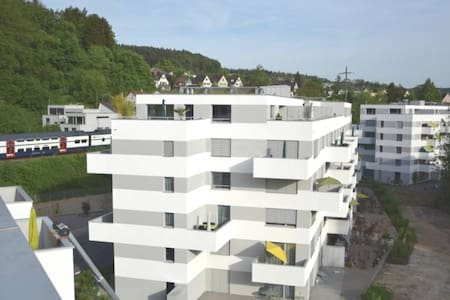 Luxuriöse Attikawohnung mit 2 Terrassen - Winterthur - Byt
