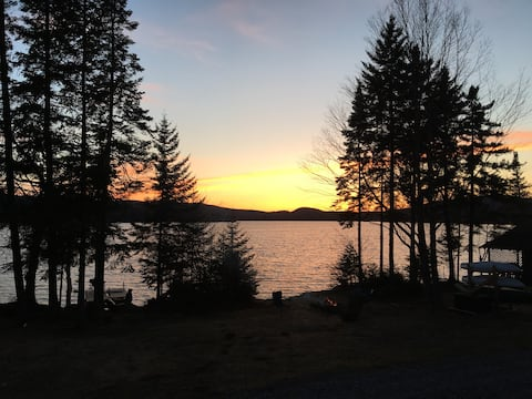 Waterfront Cabin - Back Lake - Direct TRAIL Access