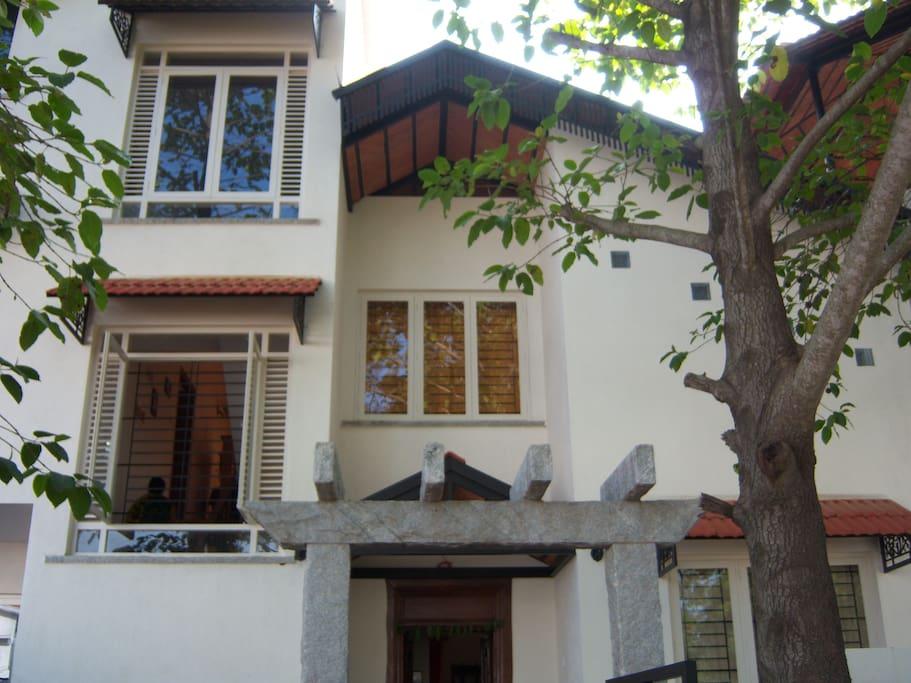 Elegant home at Whitefield, Bangalore