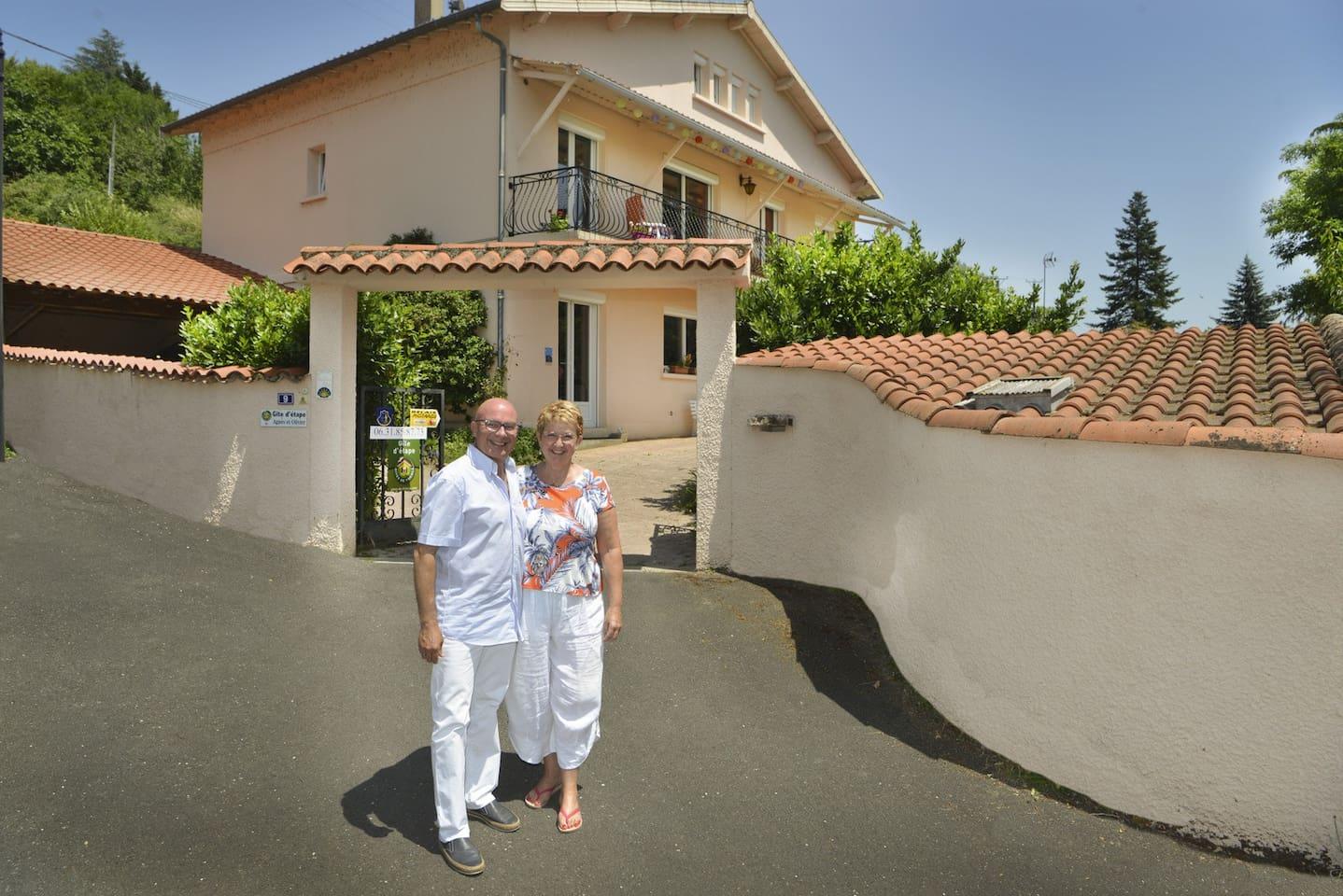 Accueil Agnès et Olivier