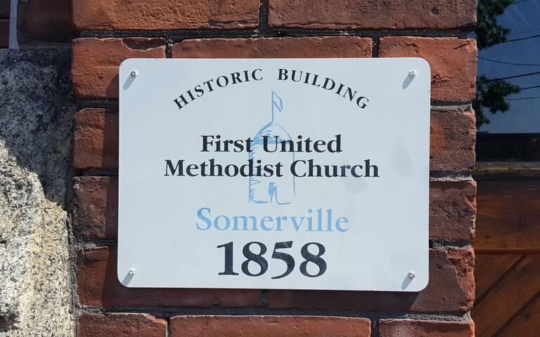 This signals the building has historic landmark status.