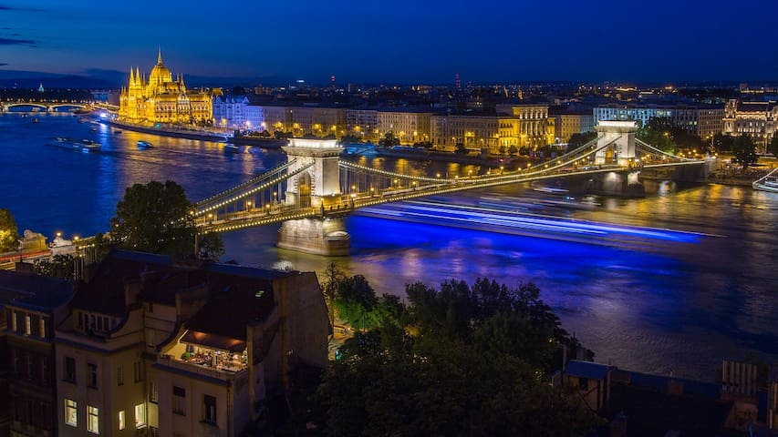 Center of the amazing Budapest