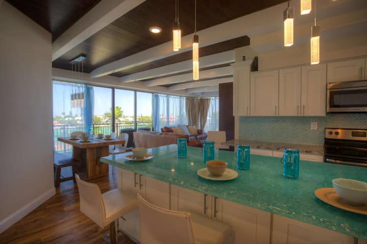 Direct Beach Access. Amazing Views. Great Amenities, huge balcony and a Fabulously Appointed Condo.