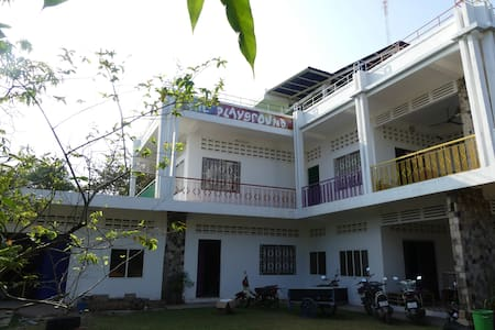 The Playground Kampot - Room Amethyst
