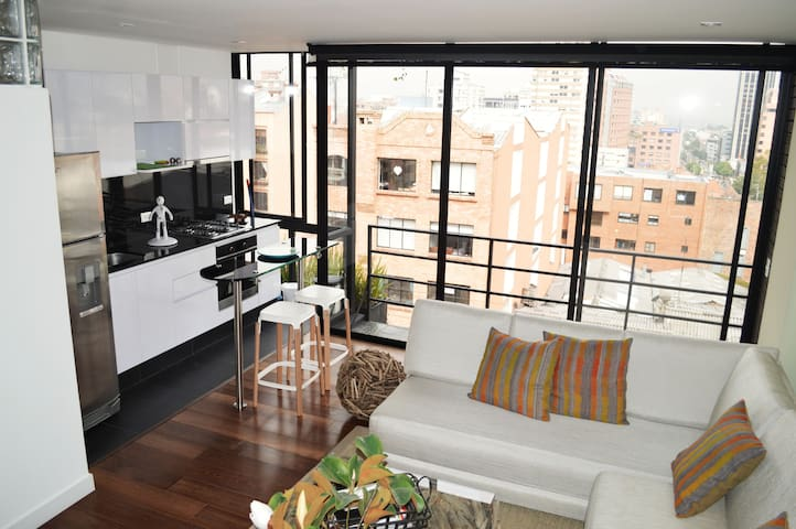 Beautiful apartment in a great zone - Bogotá - Apartemen