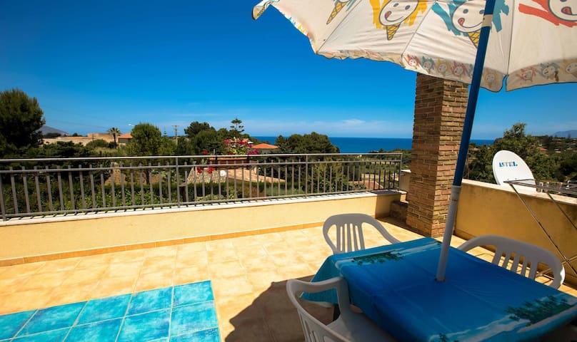 Beautiful Cottage in Guidaloca Bay - Castellammare del Golfo - Apartamento