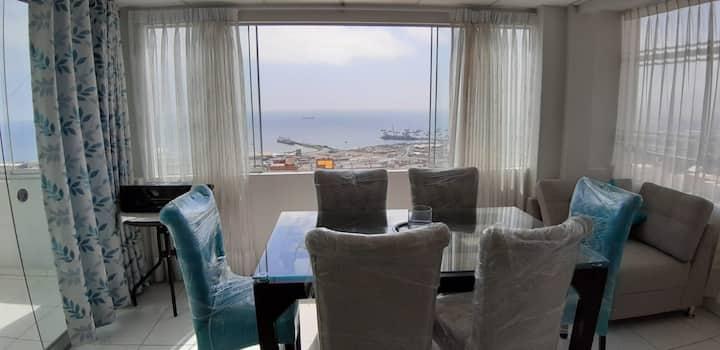 Dpto con área común con vista al mar Ilo-Piso 2