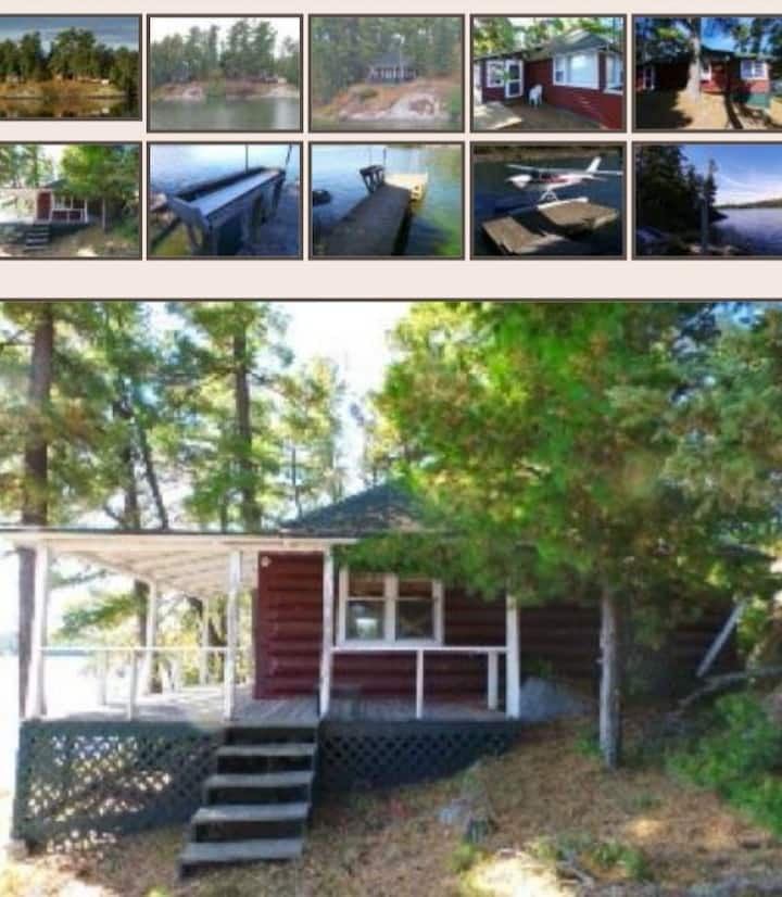 Private island cabin. Great for groups.