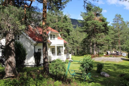 Idyllic house in beautiful Telemark in Fjågesund