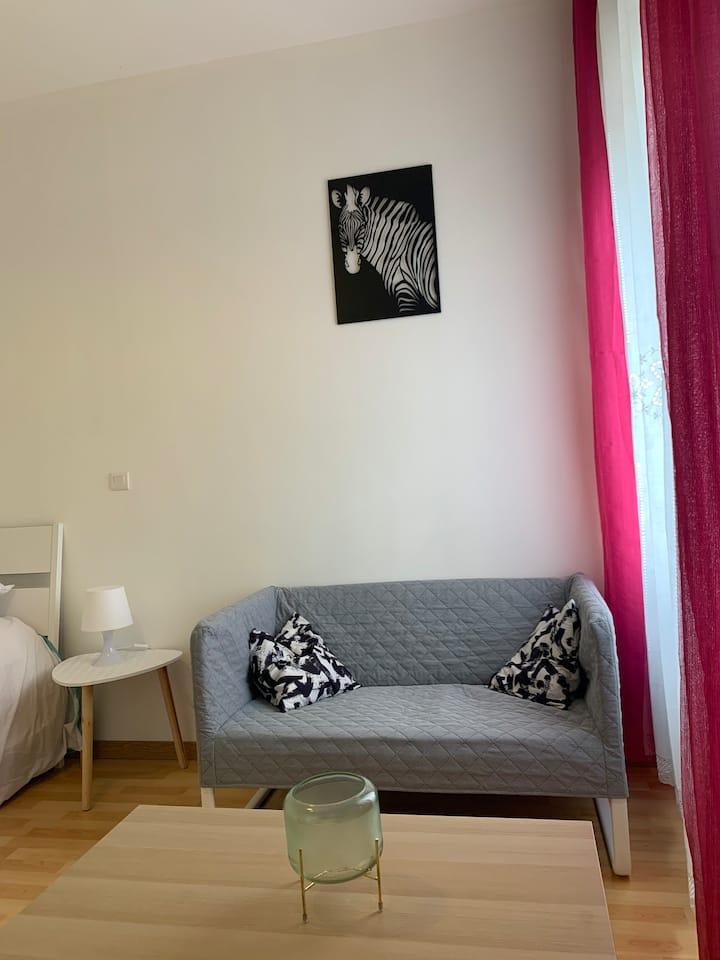 Agréable appartement, centre ville