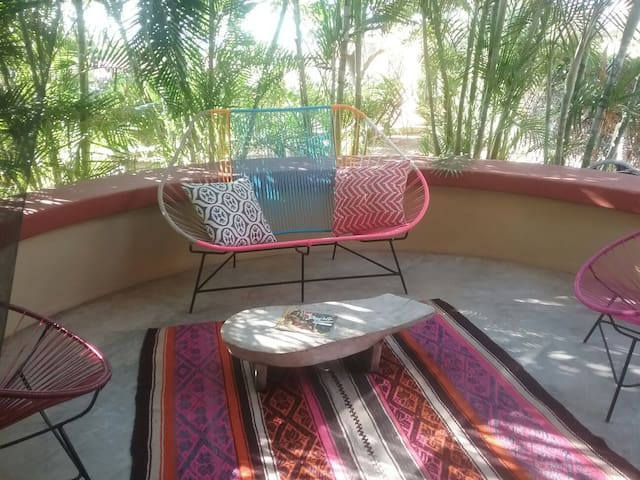Beach/Garden Paradise - Brisas de Zicatela - Apartment