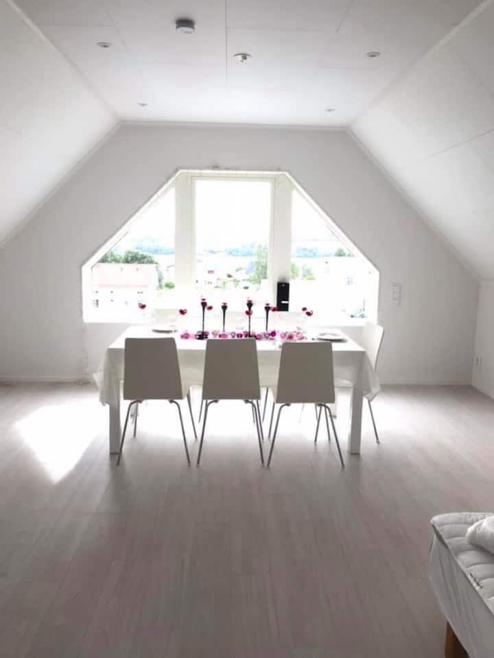 Loftet i natursköna Höga Kusten