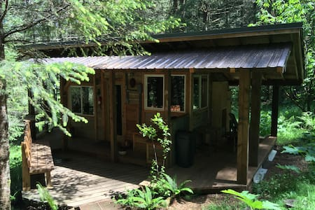 Rustic, Romantic, Cabin Retreat mins. from Eugene - Eugene - Chalet